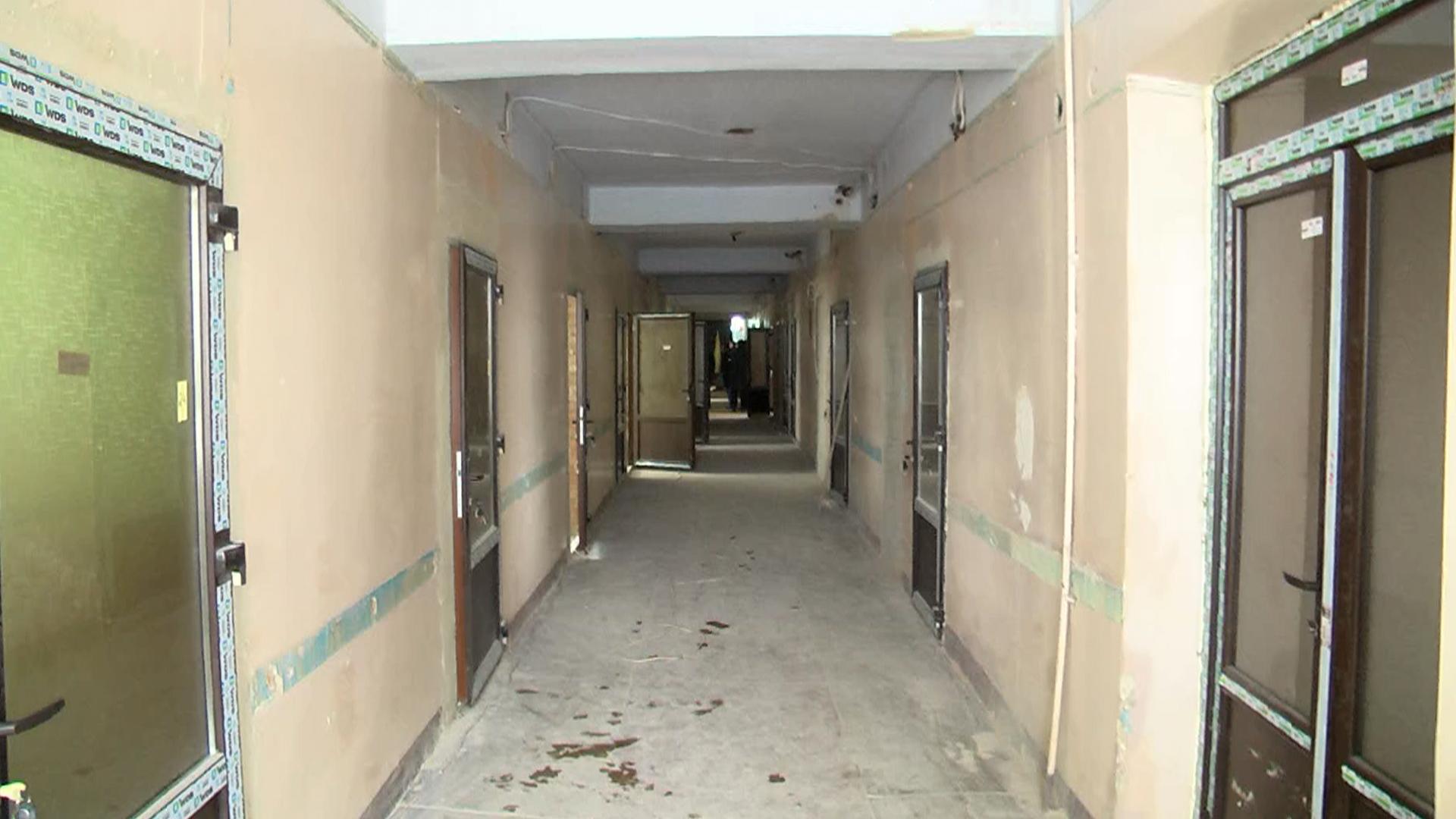 Триває ремонт приймального відділення Коломийської ЦРЛ (відеосюжет)