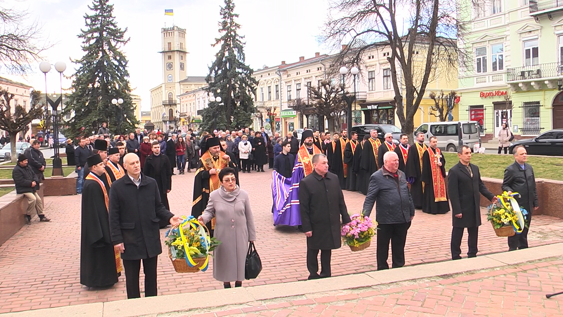На Коломийщині вшанували Тараса Шевченка (відеосюжет)