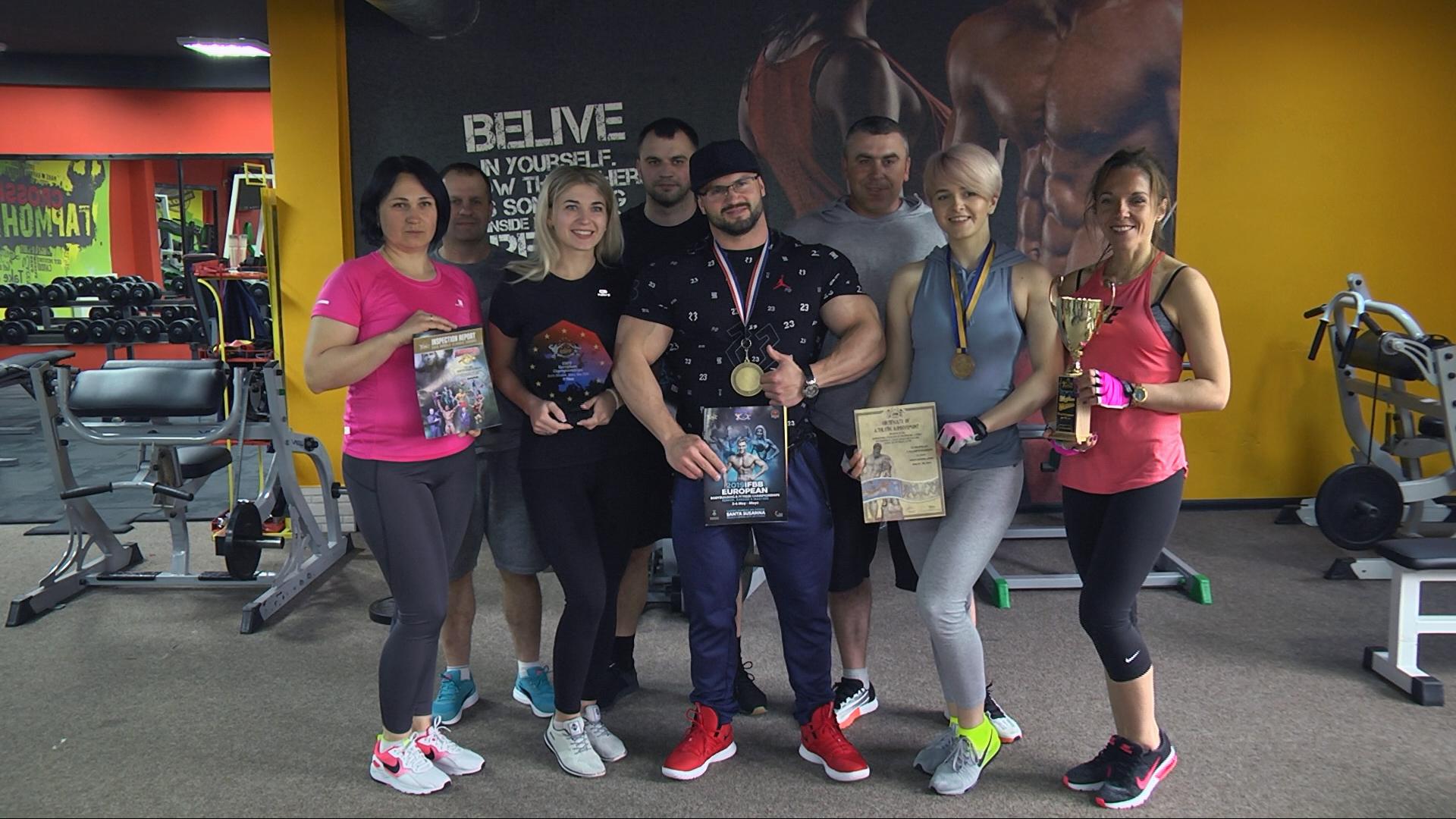 Коломиянин став Чемпіоном Європи з бодібілдингу (відеосюжет)