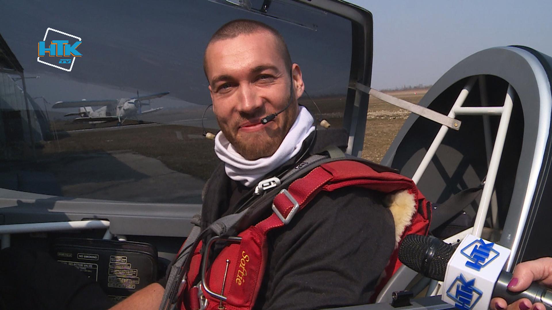Коломию відвідав чемпіон світу з вищого пілотажу Тимур Фаткулін (відео)