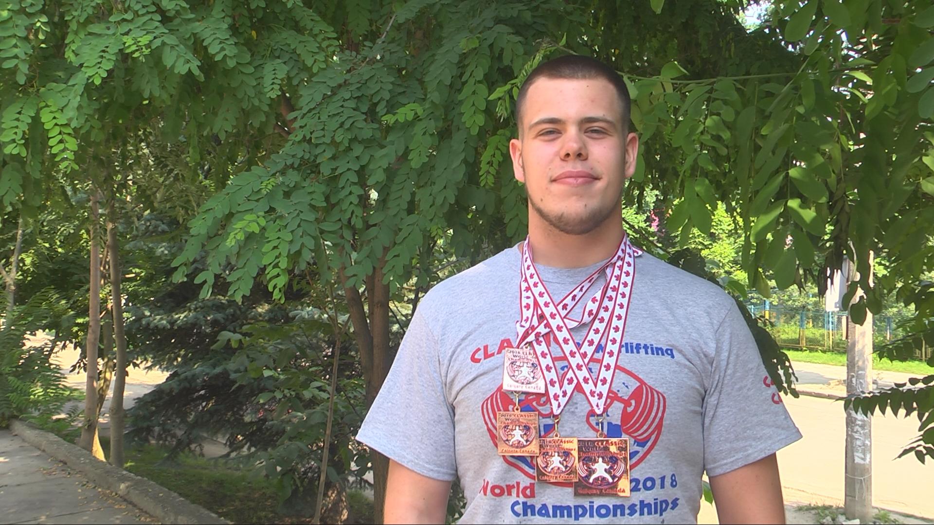 Коломиянин виборов бронзу на Чемпіонаті світу з пауерліфтингу (відеосюжет)