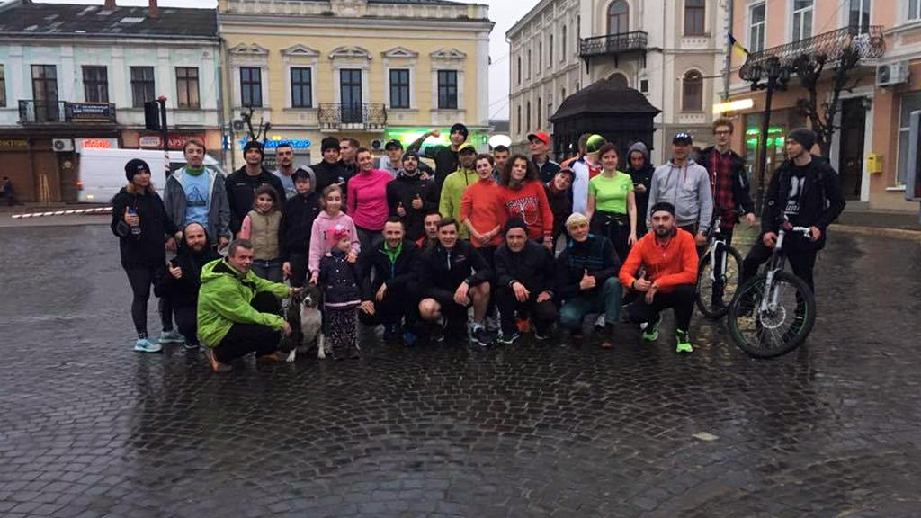 5 травня у Коломиї відкриють бігову локацію від спільноти Runday