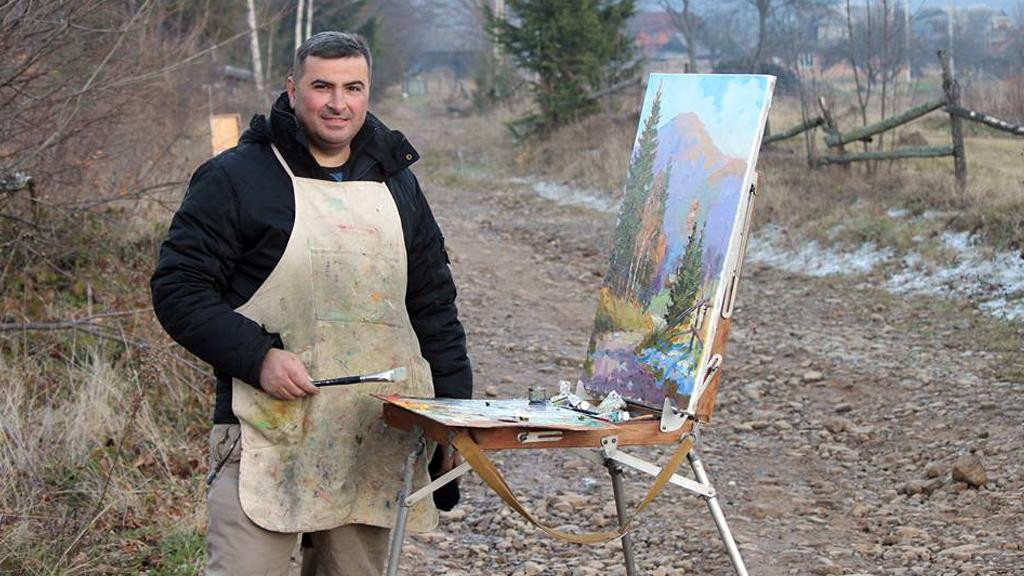 У Коломиї відкриють персональну виставку живопису Миколи Яцурака
