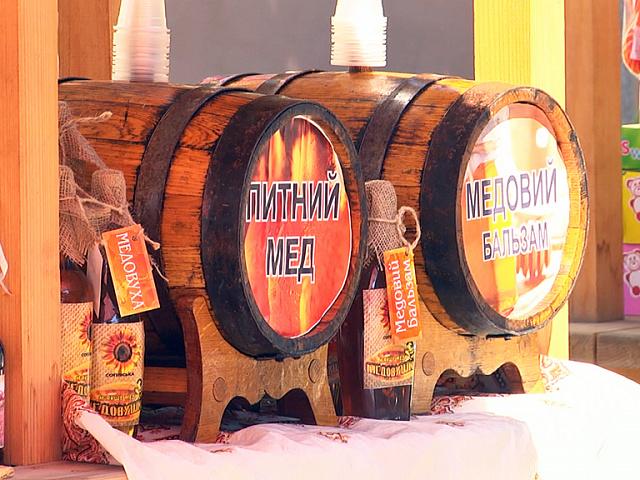Фестиваль-ярмарок «Медовий Спас» відбувся у Коломиї (відеосюжет)